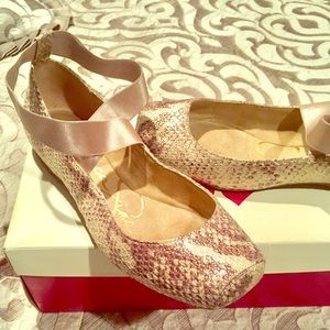 Jessica Simpson Ballet Printed Flats size 7.5